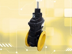 Aeon flanged gas gate valves now available with PUR coating
